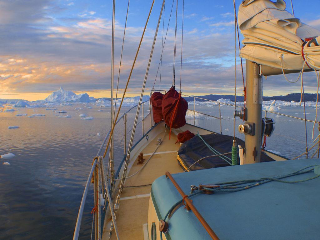 Segeln in Grönland