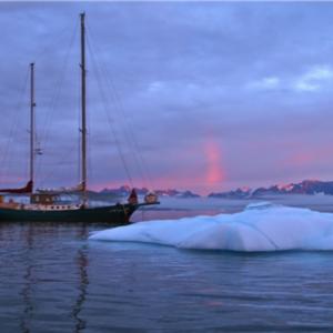 Ankern in Grönland