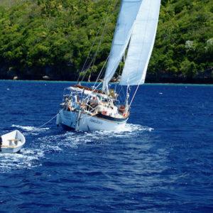 kleine Blauwasseryacht