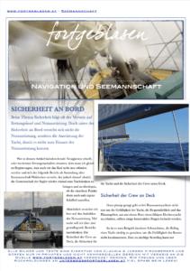 PDF zur Sicherheit auf Yachten