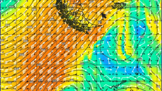 Schwerwetter und Sturm Teil 8 – GRIB-Daten